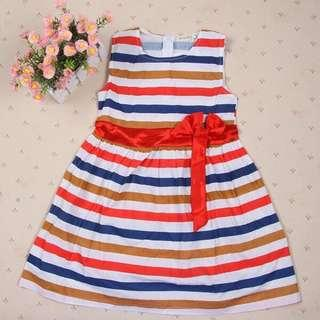 Kids Girl Stripes Dress