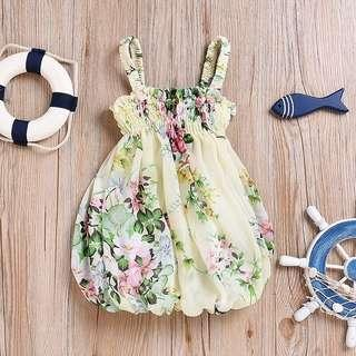 Baby Girl Floral Cute Dress