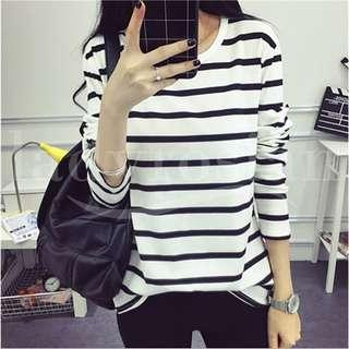 Women Stripes Tops