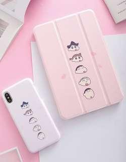 [Free iPhone Case!] Crayon Shinchan iPad Case