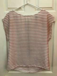 Flowy Stripped Top