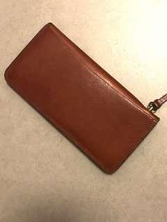 PORTER leather long wallet