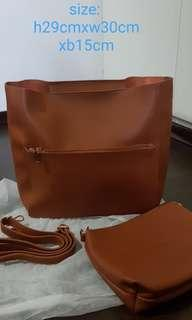 🚚 Brand new BIG a4 size bag with free pouch
