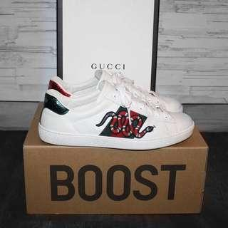 Gucci ace snake embroidered sneaker