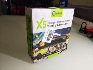 全新 Cmeilan X5 充電式遙控尾燈