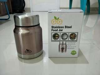 Preloved GIG Baby Stainless Food Jar 500 ml - Bronze