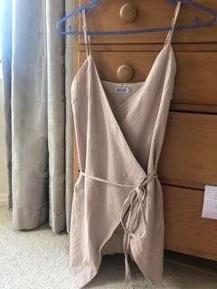 Beginning boutique wrap dress