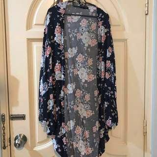 Floral Kimono from Cotton On #MMAR18