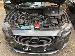 Another Mazda 6 Brisk Performance spark plugs