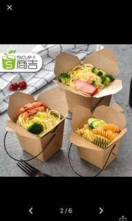Kraft food box takeaway