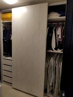 九成半新宜家Ikea超大容量衣櫃