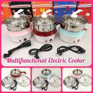 2 in 1 Multifunction electric cooker