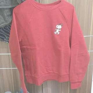 h&m sweater Hoodie sweatshirt snoopy