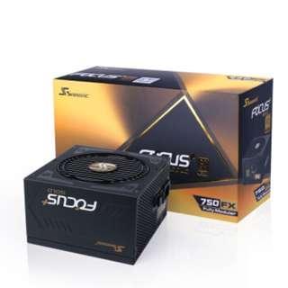 Sesonic Focus plus 750W 80+Goldq