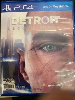 Ps4 底特律:變人 Detroit: Become Human