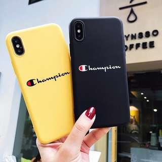 🚚 Champion Shockproof Soft TPU iPhone Case