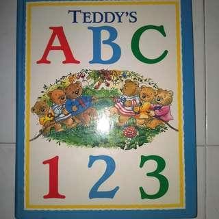 🚚 Teddy's ABC 123 (Hardback book)