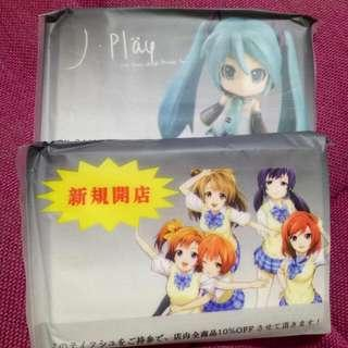 Anime Pocket Tissue Paper