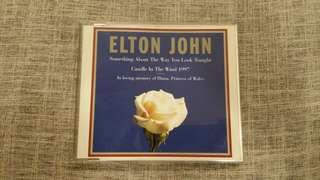 ELTON JOHN Something About The Way You Look Tonight/Candle In The Wind