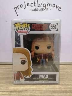Max Stranger Things Funko Pop collectible pvc figure toy
