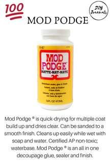 Authentic 8 oz Mod Podge