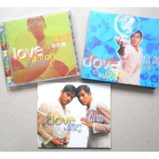 1996年 郭富城 Aaron Kwok 信鴿 CD 國語 飛碟唱片 華納唱片