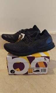 🚚 Adidas Ultra Boost Uncaged Triple Black US 9.5 BNIB