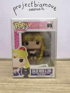 Sailormoon & Luna Funko Pop collectible pvc figure toy