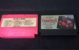 Nintendo punch out & 20 in 1