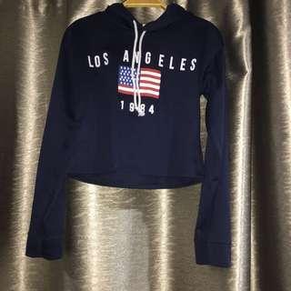 Los Angelas blue hoodie
