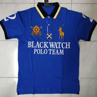 Polo Ralph Lauren Blackwatch Polo Team #2 Blue Size XL