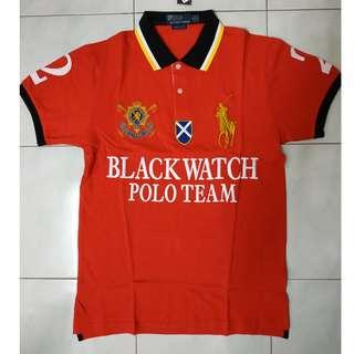 Polo Ralph Lauren Blackwatch Polo Team #2 Red Size M
