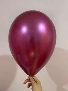 金屬色氣球🎈balloon