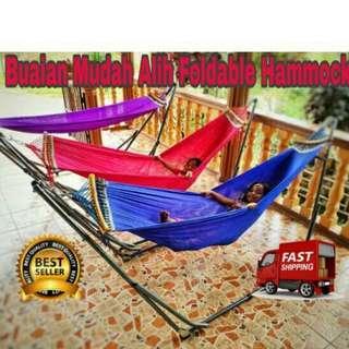 Buaian vietnam boleh lipat / portable foldable hammocks