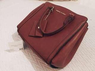 Adrienne Vittadini Leather Handbag