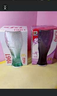 可口可樂玻璃曲線杯