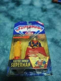 Kenner 1996 Superman Electro Energy