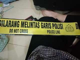 Dijual: Garis Polisi/Police Line gulungan ex. property foto
