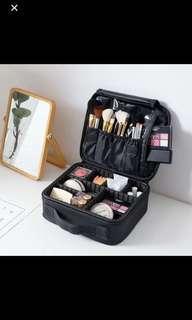 ( 現貨) 旅行必備Makeup Set手提多層化妝袋洗漱袋多格多容量化妝品收納包