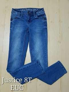 Justice Pants 8T