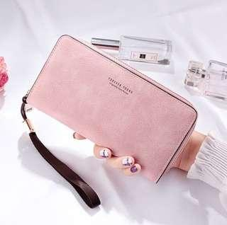 [po] forever young pu long wallet