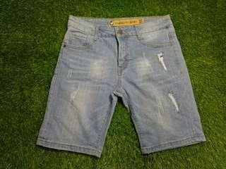 american denim jeans short pants