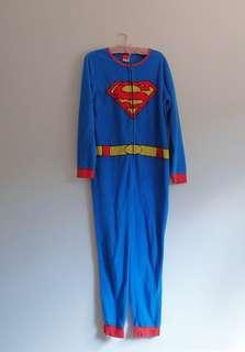 Superman onesie /one piece jumpsuit