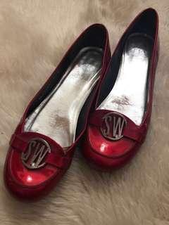 Stuart Weitzman Ruby Red Slippers