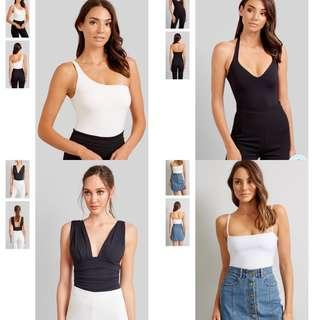 SELL ME YOUR BASIC KOOKAI BODYSUITS & TOPS X