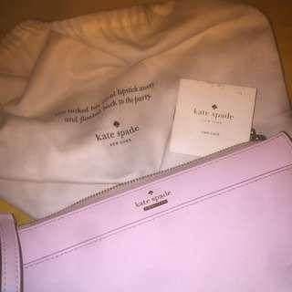 Kate Spade ORI - Soft pink sling bag , mini bag peach
