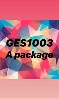 GES1003 A Package Changing Landscape of Singapore
