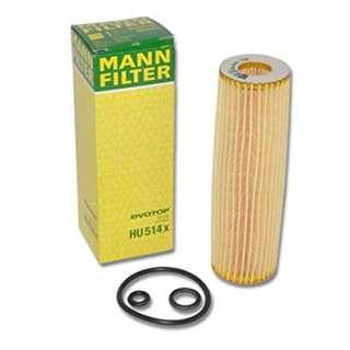 BN Mann Oil Filter HU514x for Mercedes Benz