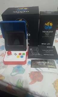 Neogeo mini 亞洲版連黑色手制一個