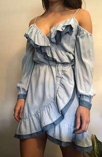 Seed heritage wrap dress